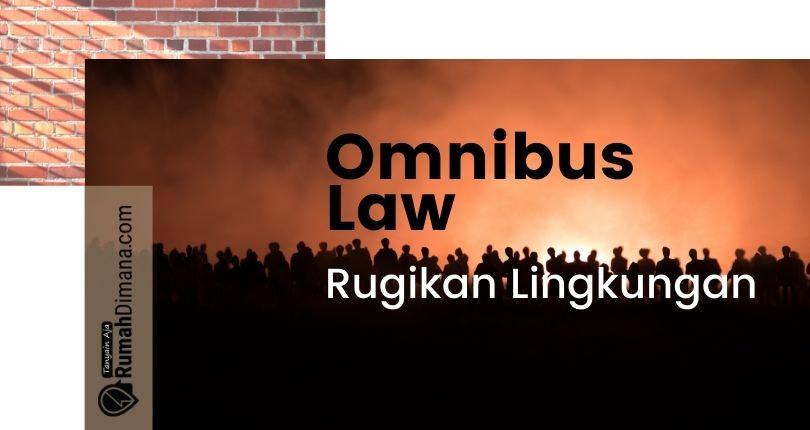 Omnibus Law Rugikan Lingkungan, Masyarakat Sipil dan Ormas Ramaikan Protes