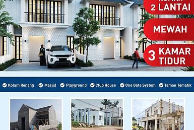 Rumah 2 lantai murah di Bogor