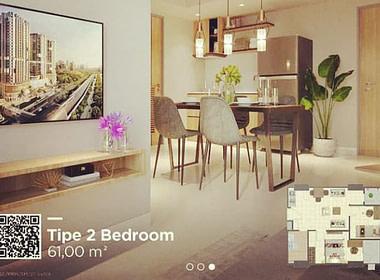 Apartemen LRT City Ciracas_Pak Andi