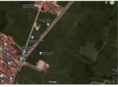 map Kilasah Serang